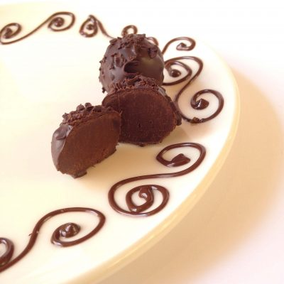 Dark Chocolate Truffle 1